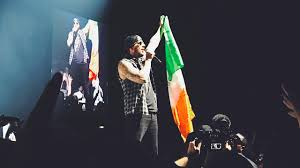 Avenged Sevenfold Flag Avenged Sevenfold Live The Stage World Tour Dublin Youtube