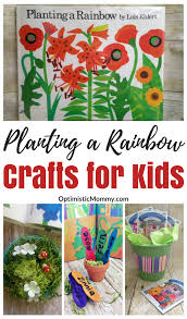 planting a rainbow by lois ehlert craft ideas for kids