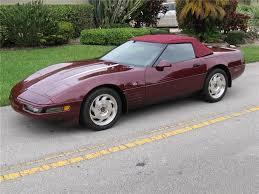 1993 corvette 40th anniversary 1993 chevrolet corvette 40th anniversary edition 125170