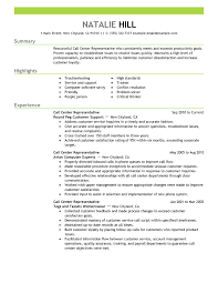 Career Resume Examples by Extraordinary Idea Example Resumes 6 Free Resume Samples For Every
