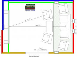 Home Theater Design Layout Home Design - Home theater design plans
