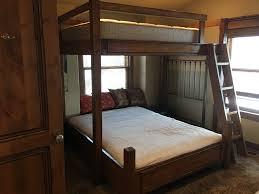 Custom Bunk Beds Romans Rope Full Over Queen Bunk Bed - Full over queen bunk bed
