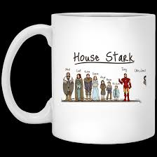 Iron Man House by House Stark And Iron Man Coffee Mug
