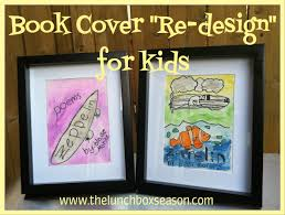 book cover re design for kids the lunchbox season