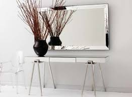 Entry Console Table With Mirror Console Tables Amazing Mirror Console Table Explore Silver And