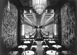 ss normandie ocean liner 1932 interior design by roger henri