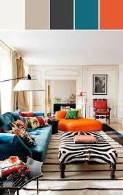 Best  Orange Sofa Ideas On Pinterest Orange Sofa Design - Orange living room design