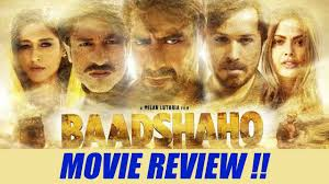 baadshaho movie review live audience update filmibeat