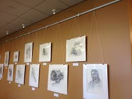 hanging pictures with wire and clips picture hanging wire and clips 27 best art hanging systems images on