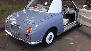 nissan figaro nissan figaro lapis grey for sale www sunrisecars com au youtube