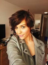 hair color for hispanic women over 40 love it short and shaggy haircut my style or lack thereof