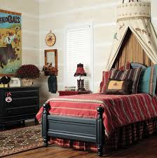 Boys Bed Canopy Amazing Of Boys Bed Canopy In This West Themed Bedroom