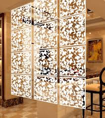 Nexxt By Linea Sotto Room Divider White Acrylic Set Of 8 Blocks Floral Galore Room Room Divider