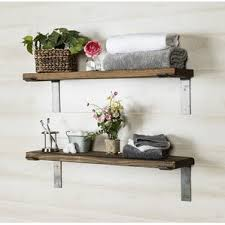 wooden shelves you u0027ll love wayfair