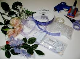 wrist corsage supplies easy wrist corsage tutorial a creative