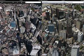 Boston Google Maps by Apple U0027s 3d Maps Look Much Better Than Google U0027s