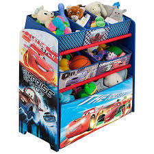 delta children disney cars multi bin toy organizer walmart com
