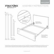 amazon com structures bolt on metal bed rail system with wire