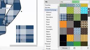 pattern fill coreldraw x6 create and share pattern fills youtube