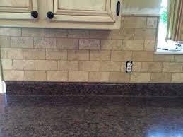 Brick Tile Backsplash Kitchen Heartland Remodeling Llc Quality Tile U0026 Trim For St Charles