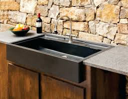 sinks exterior bar sink faucet combo outdoor sizing cabinet