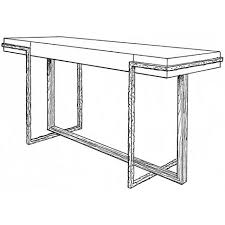 Iron Console Table Iron Eye Console Table By Jean Louis Deniot 3165 Baker Furniture