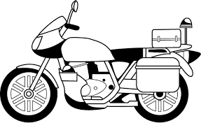 police motorcycle coloring pages sketch coloring