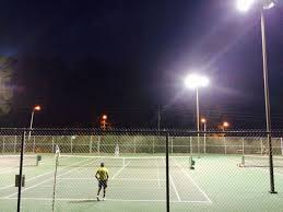 lighted tennis courts near me godbold park in north carolina has 8 outdoor lighted tennis courts