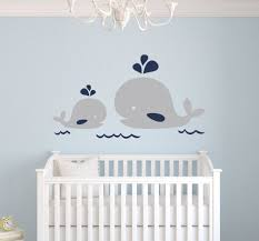 popular baby nursery wall buy cheap baby nursery wall lots from nautical mom and baby whale vinyl wall decal nautical decor baby nursery wall decals wall stickers