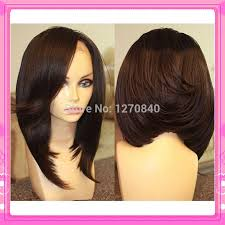 back images of african american bob hair styles cheap colored lace front wigs synthetic heat resistant for black