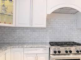 marvelous white glass subway tile kitchen backsplash kitchen