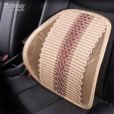 si e massant voiture haute qualité tresse lombaire coussin pour chaise de bureau de