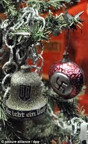 German Christmas Decorations Sydney by How Even Invaded Christmas Exhibition Displays Swastika