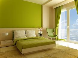 green color for bedroom home design