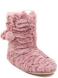 womens boots asda faux fur slipper boots george