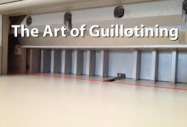 the art of guillotining youtube