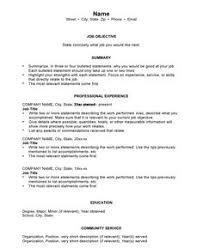 Examples Of Really Good Resumes by Good Resume Format For Experienced Http Www Resumecareer Info