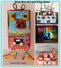 colourful and whimsical recycled box projects recycled
