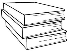 Stack Books Coloring Page Bebo Pandco Books For Coloring