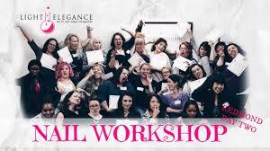 vlog nail workshop redmond day 2 youtube