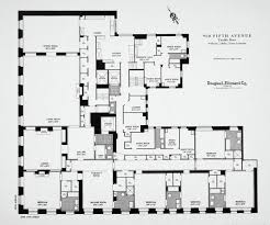 floorplan of a typical appartment 960 fifth avenue new york