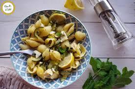 recette de cuisine courgette recette pâtes courgette bleu citron et menthe cuisine