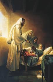 Image Of Christ by Jesus Blessing Jairus U0027s Daughter Christ Raising The Daughter Of
