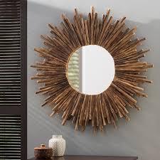 dory rattan wall mirror reviews joss