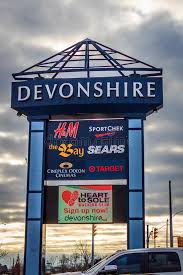devonshire mall signage editorial stock image image of theater