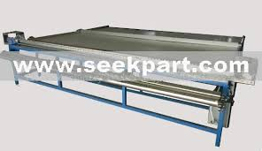 electric roller blind fabric cutting table products from china