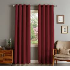 Grommet Top Blackout Curtains Rhf Blackout Thermal Insulated Curtain Antique Bronze Grommet