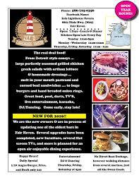 2017 lake st clair restaurant restaurants lake st clair guide magazine