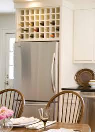 Wine Cabinet Furniture Refrigerator Kitchen Cabinet Storage Above Refrigerator Wine Rack