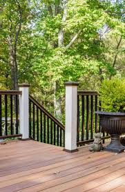 Decking Banister 126 Best Deck And Dock Railing Images On Pinterest Deck Railings